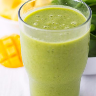 Pineapple Mango Green Smoothie – Dairy and Gluten Free