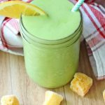 Orange Mango Green Protein Smoothie