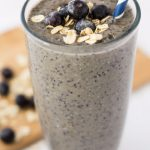 Blueberry Banana Oatmeal Smoothie