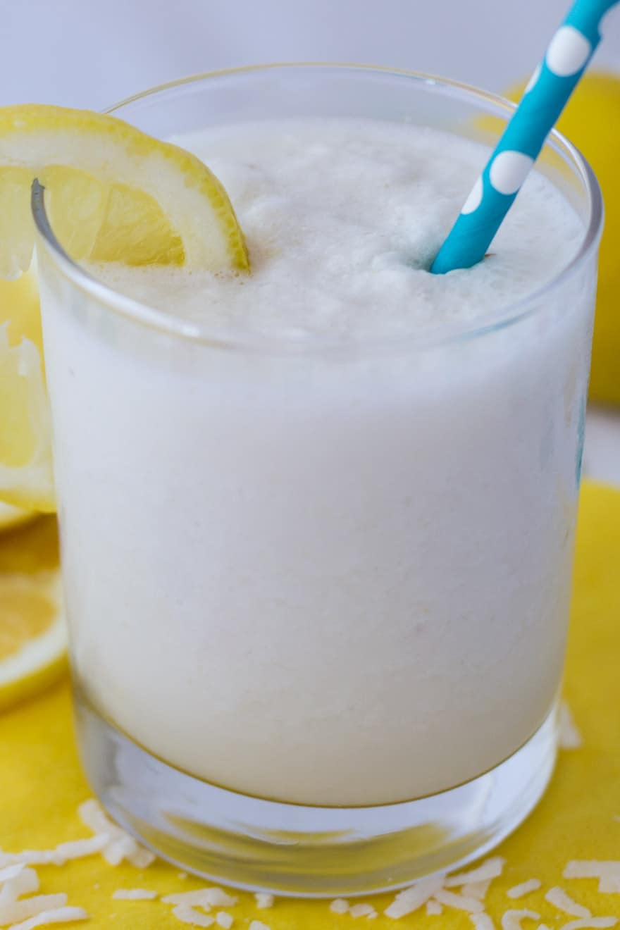 Refreshing Lemon Coconut Smoothie Recipe