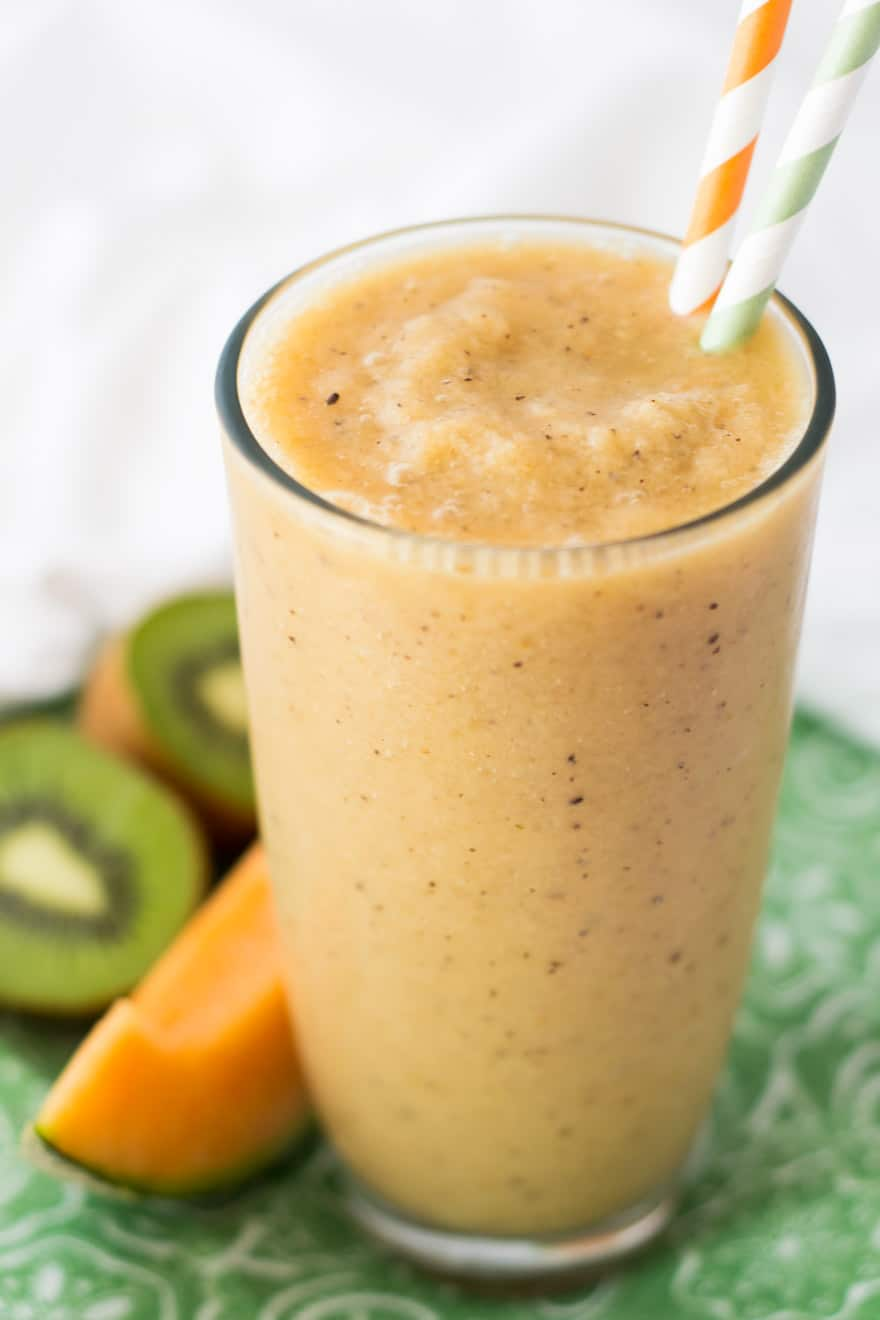 Cantaloupe Kiwi Papaya Smoothie Promotes Immunity And Digestion Explore recipes featuring the fruit and discover the possibilities. cantaloupe kiwi papaya smoothie