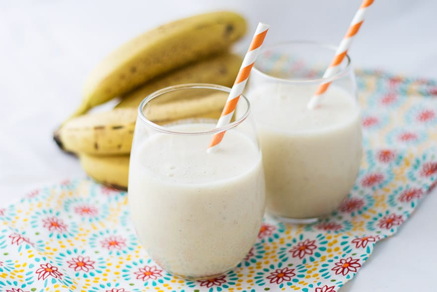 Healthy Banana Cinnamon Smoothie