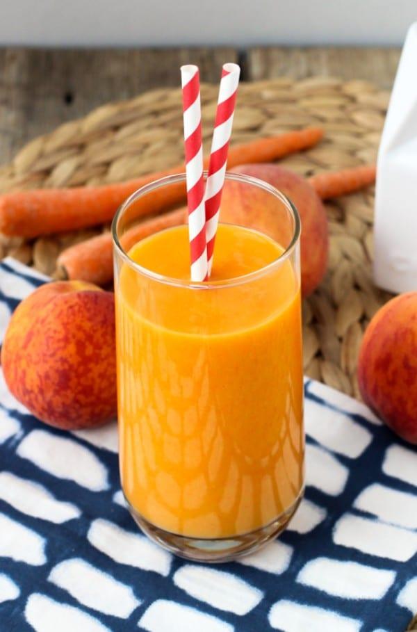 power peach mango smoothie